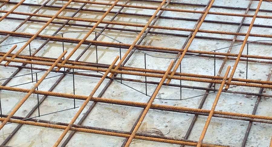 Reti elettrosaldate per cemento armato